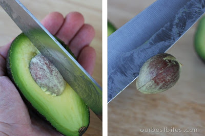 how to cut and pit an avocado