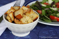 Sourdough Garlic-Herb Croutons