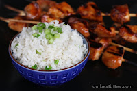 Sweet and Savory Coconut Rice