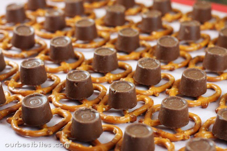 ... pretzels rolo pretzels with pretzel m m s two peas their pod rolo
