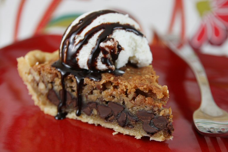 Chocolate Chip Cookie Pie - Our Best Bites
