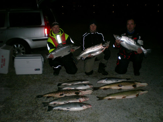 Hyfsat fiske! Sista turen 2009