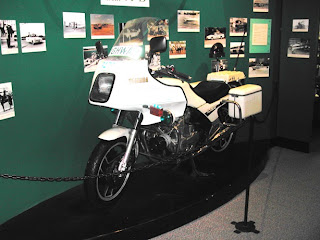 Queensland Police Museum - Police Bike