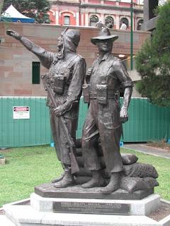 Korea Malaya Borneo Memorial ANZAC Sqaure