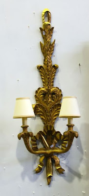 Antique Lighting - Italian Rococo Style Sconce $500 opening bid