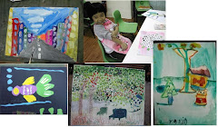 Yu Xin 4 to 5 years old art works