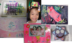Ker Ru art work 2 years old to 5 years old