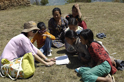 children in nepal ( they could read, but had no clue what they were reading