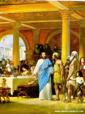 Jesus ayudando a las personas