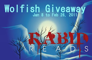 Winner: Wolfish Giveaway Finale