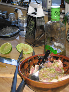 pork chops marinating