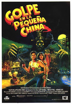 Golpe en la pequeña China dirigida por John Carpenter