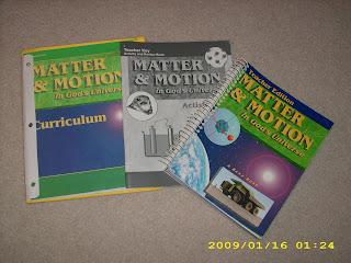 Homeschool Books For Sale Abeka Matter In Motion Science Books For