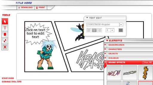 Comicweb3 6 Sitios Web para Crear tus Propios Cómics Gratis