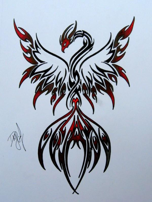 Phoenix Tattoo Design Is A Great Choice And These Designs If You Have