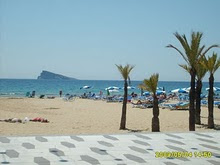 Benidorm  la bella localidad valenciana a orillas del Mediterráneo