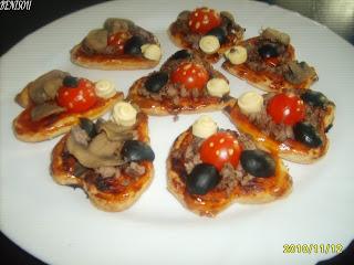 Champiñines en salsa de la Mari