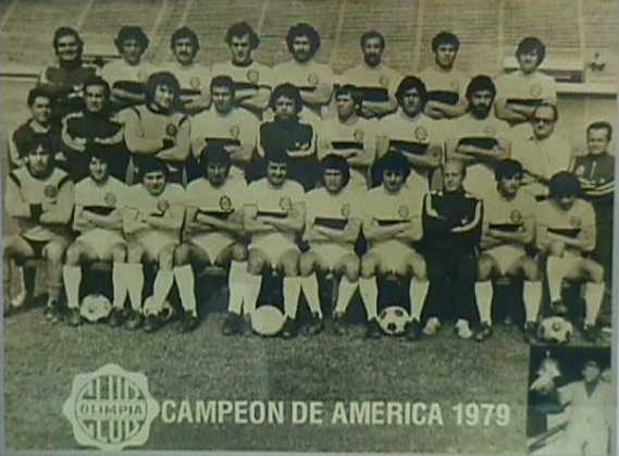 Club Olimpia   1979  Copa Intercontinental