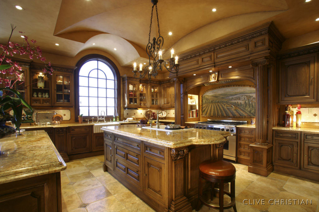 English Kitchen Cabinets