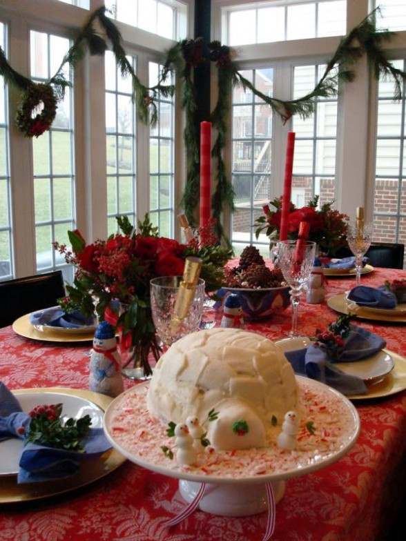 Christmas Table Centerpieces To Make, Ideas For Table Centerpieces For