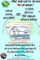 !Ahorremos el agua!