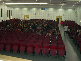 View of the classroom (auditorium)