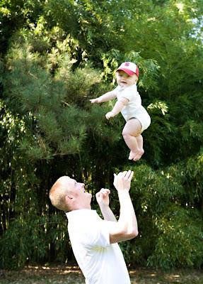 super high baby toss