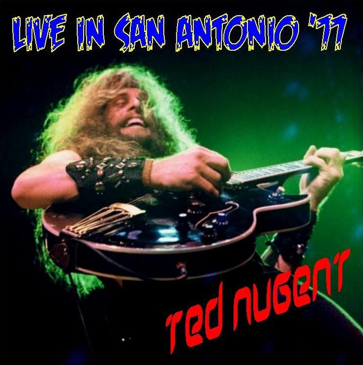 D Amp P S Bootleg Tunz World Ted Nugent San Antonio 1977 Fm