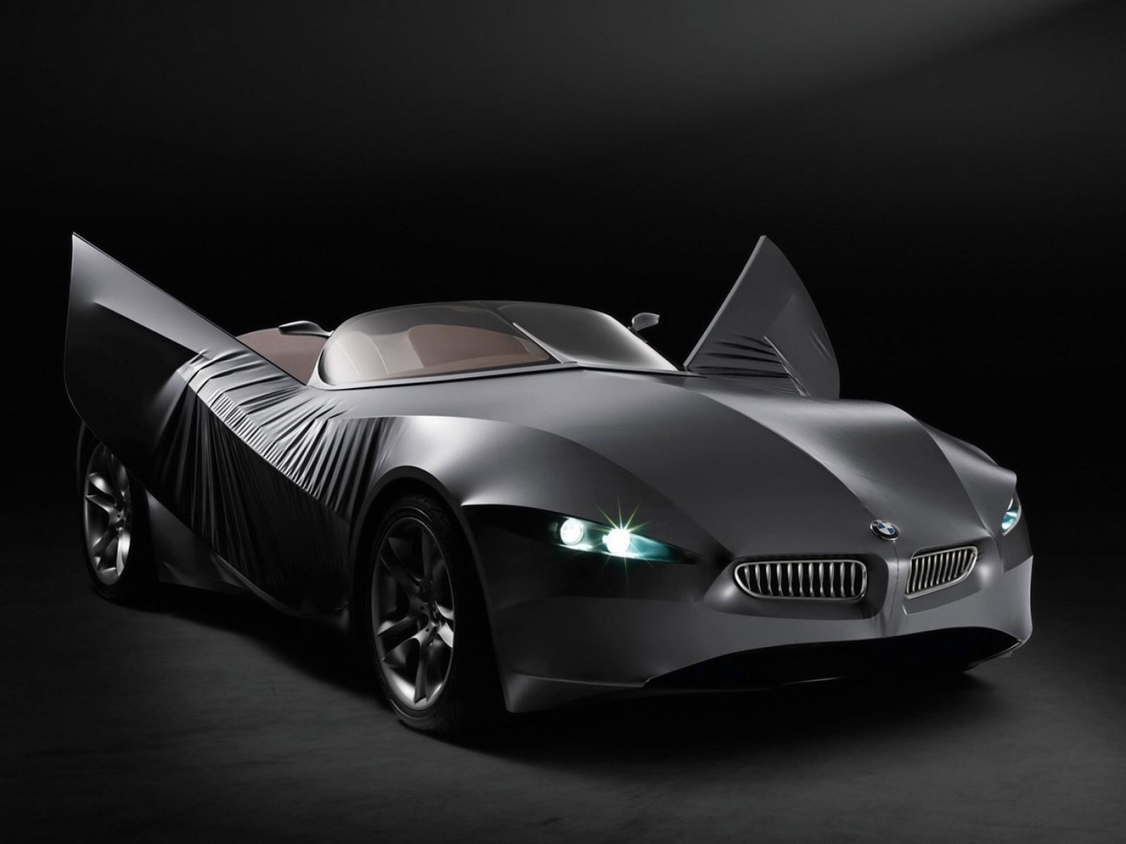Free Cars HD Wallpapers: Bmw Gina Concept Cars HD Wallpapers
