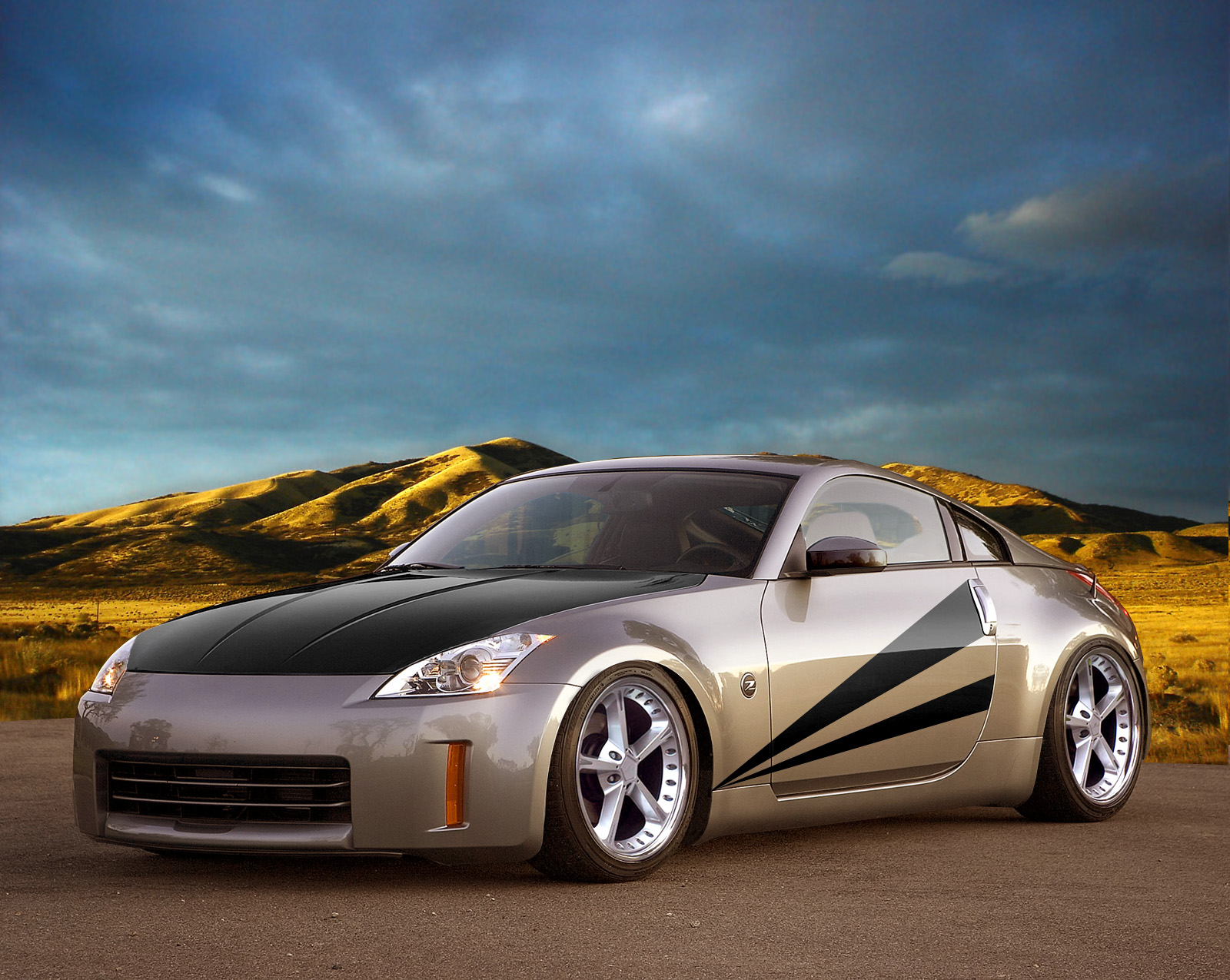 free cars hd wallpapers nissan 350z tuning hd wallpapers. Black Bedroom Furniture Sets. Home Design Ideas