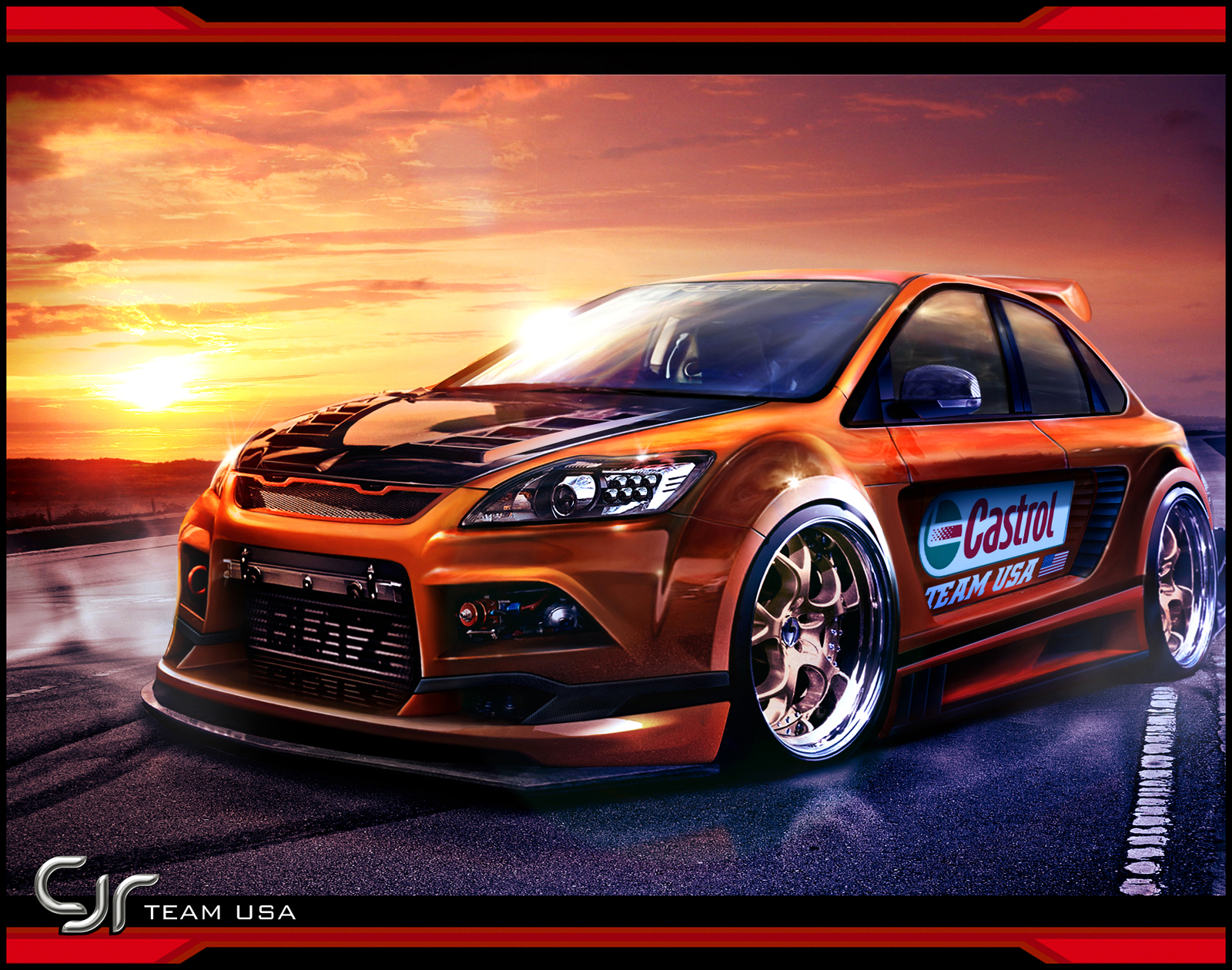 Ford Focus ST HD Walpapers