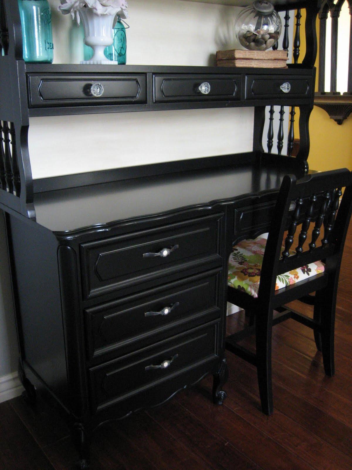 European Paint Finishes Posh Desk W Hutch Amp Chair