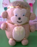 boneka horta Monyet