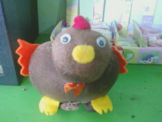 boneka Potty ayam