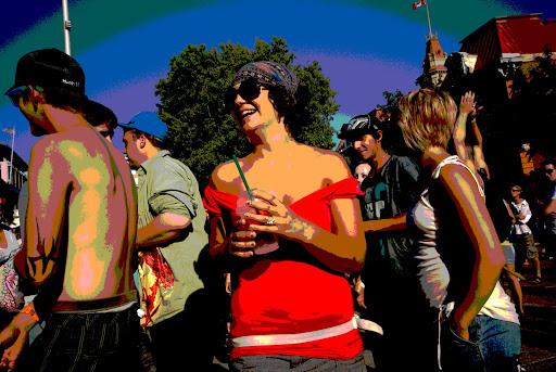 Victoria Electronic Music Festival, Centennial Square, Victoria, BC, Canada