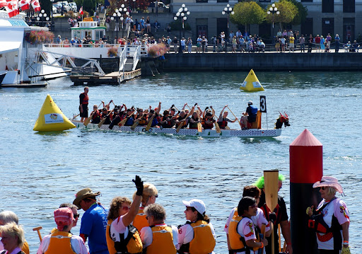 Dragon Boat Festival, Ship Point Pier, Victoria, BC, Canada