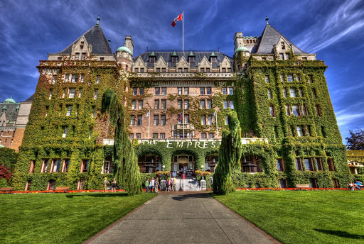 Fairmont Empress Hotel, Victoria, BC, Canada