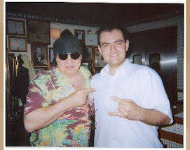 ME AND THE LEGEND STEVE VAN ZANDT
