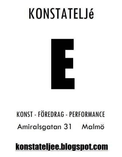 KONSTATELJé E