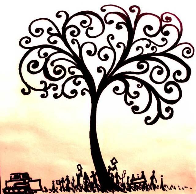Life Tree Tattoo