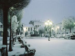 Cae la nieve,...