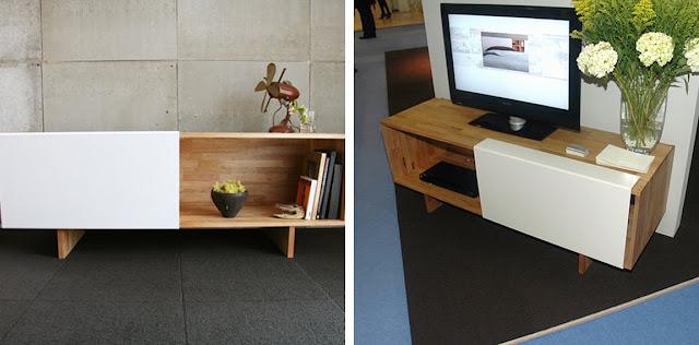 Black White Yellow Mash Studios Lax Furniture