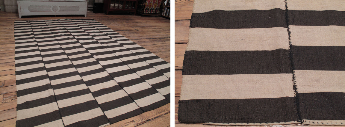 5 Striped Kilim Rug