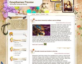 Illusion Blogspot theme