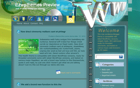 WWW Blogger Template
