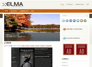 Templates for Blogger Elma Template
