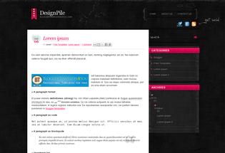 Blogger Templates DesignPile