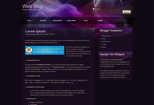 Blogger Templates Free WebBlog