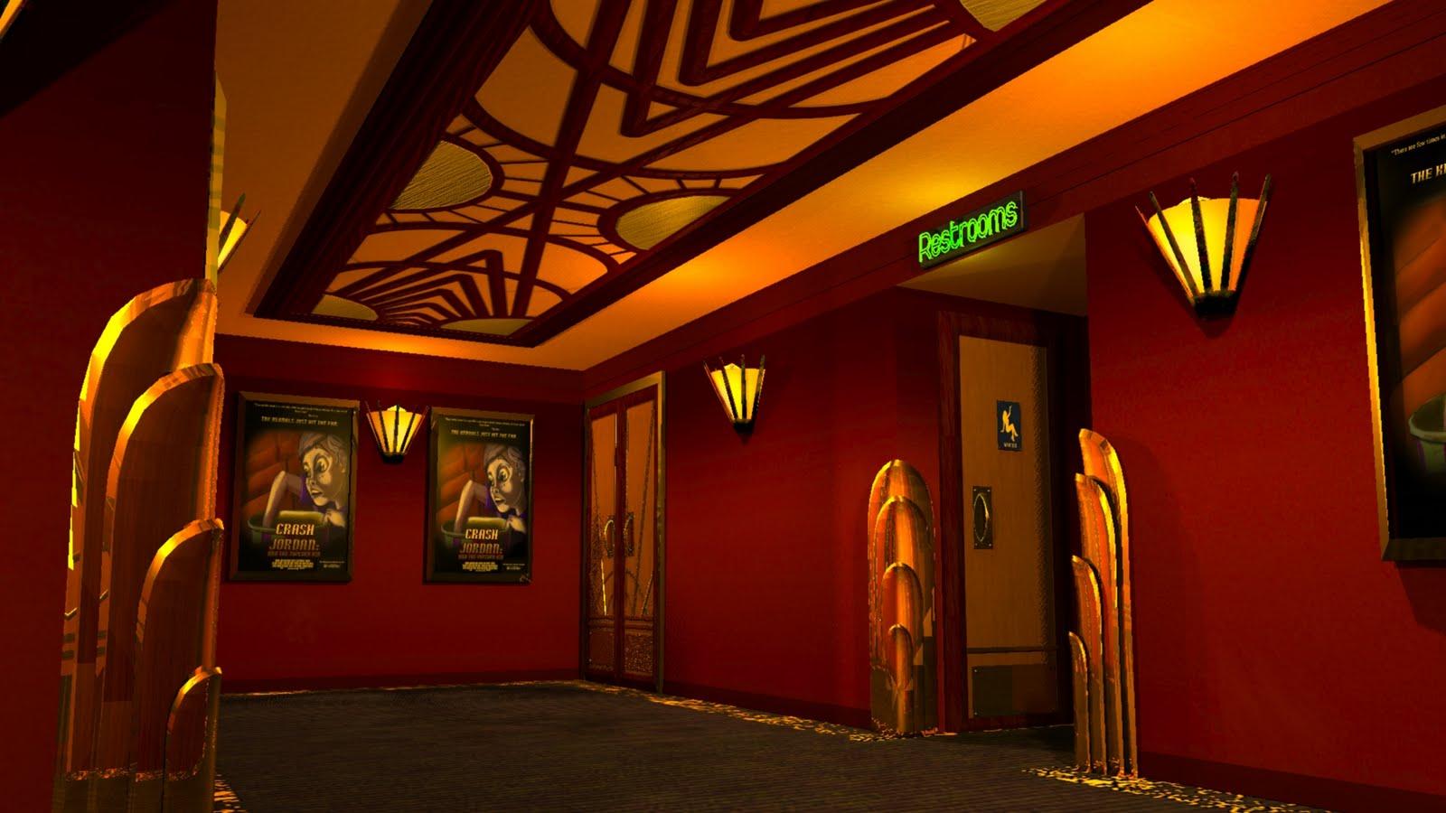 Charlie 39 s amazing art blog wip deco theatre - Blog deco ...