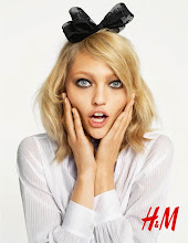 Sasha  for H&M's Fall -2009 Campaign by Terry Richardson